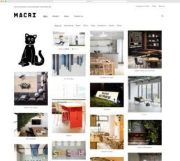 MACRI Website Design ©GRAPHITICA