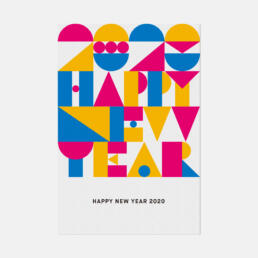 NEW YEAR CARD 2020 ©GRAPHITICA