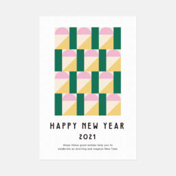 NEW YEAR CARD 2021 ©GRAPHITICA
