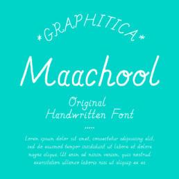 PHITICA font TYPE ©GRAPHITICA